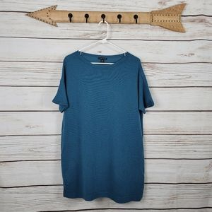 Eileen Fisher | Cashmere Oversized Short Sleeve To